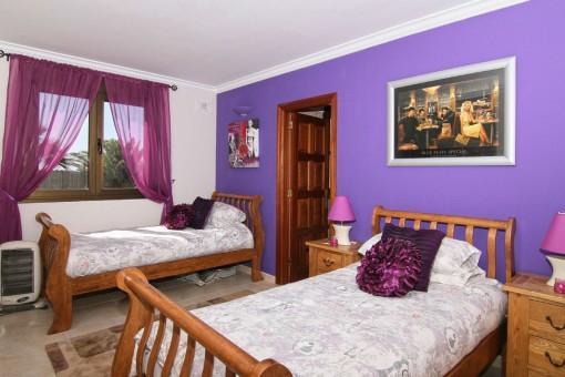 Bedroom with two singel beds