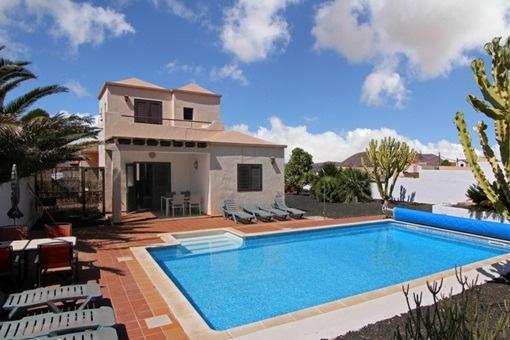Villa bonita y aislada en Villaverde