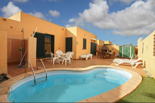 Well-maintained detached villa with pool in Corralejo, Fuerteventura