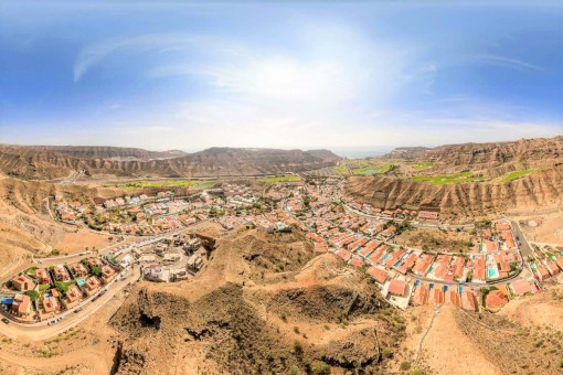 Vistas al urbanización